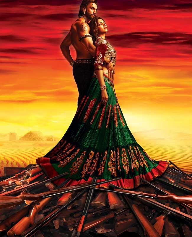 First Look of Ram Leela Movie