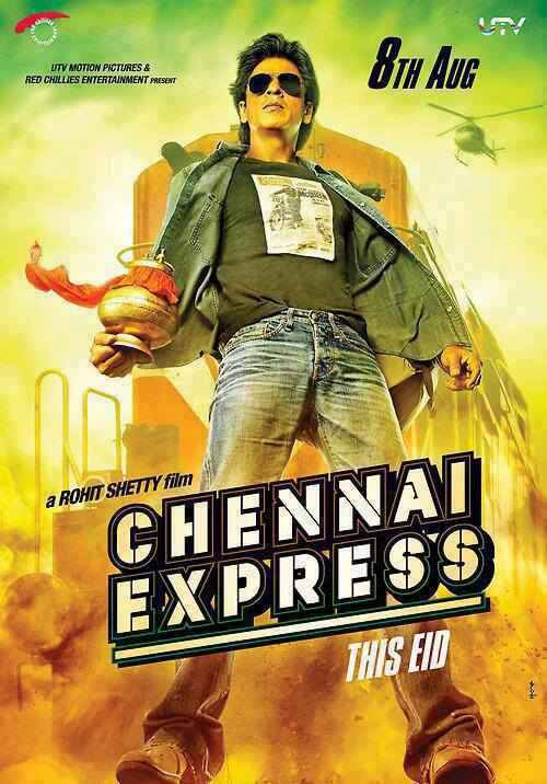Chennai Express First Look Poster.