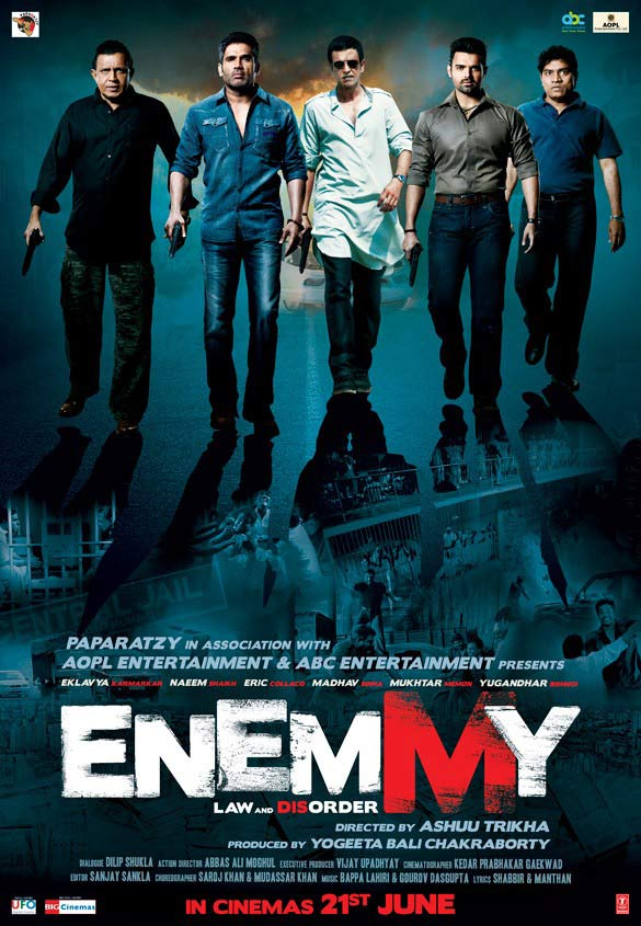 Enemmy Releasing 21st June Poster
