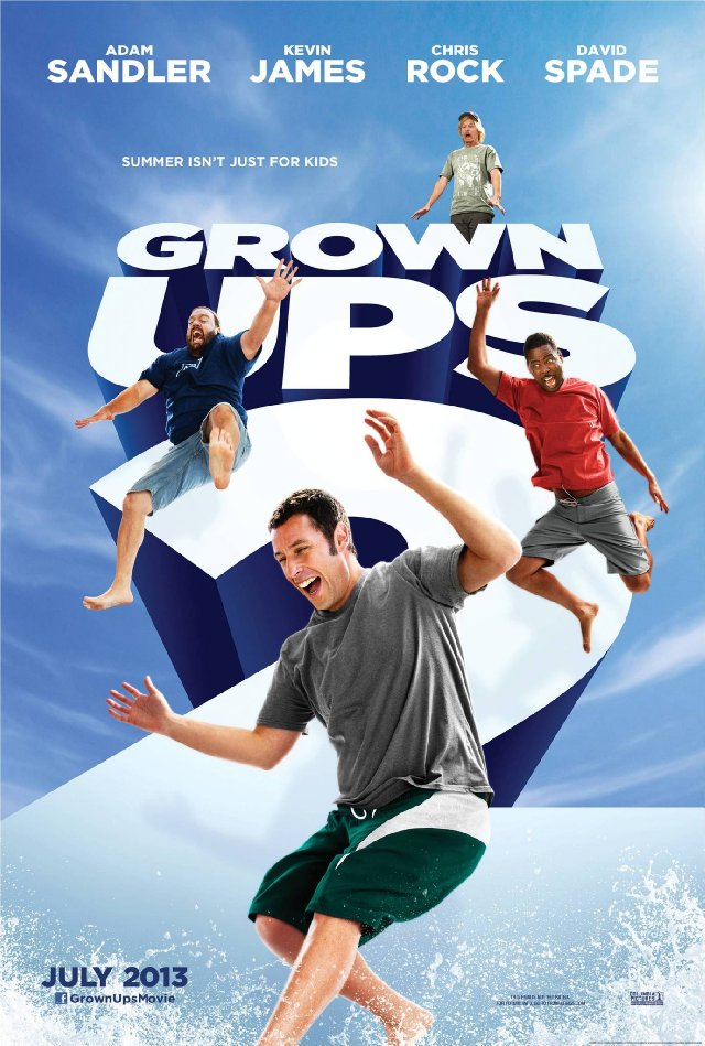 Grown Ups 2 Releasing on July 12th World Wide