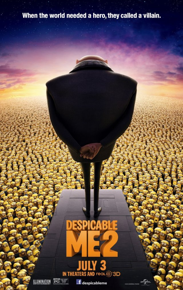 Despicable Me 2 Movie Posters