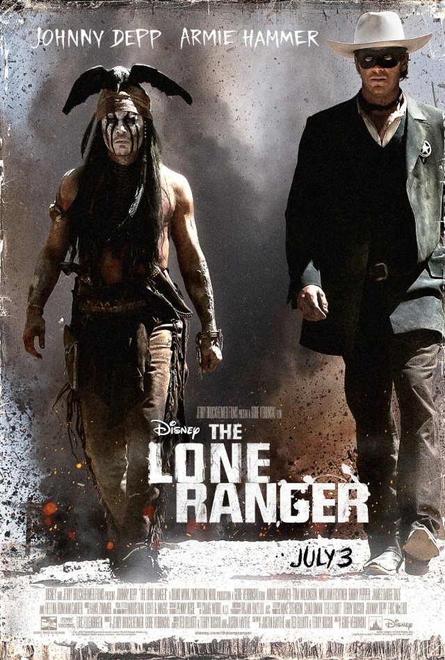 The Lone Ranger Movie Posters