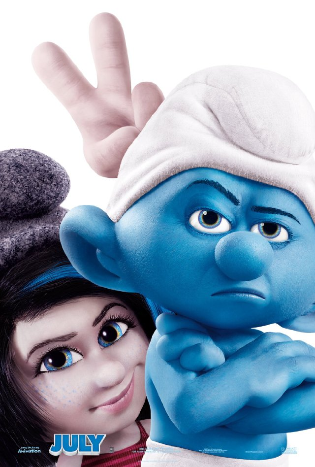 The Smurfs 2 Movie Posters