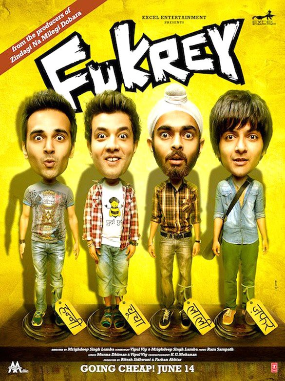 Fukrey Movie Posters