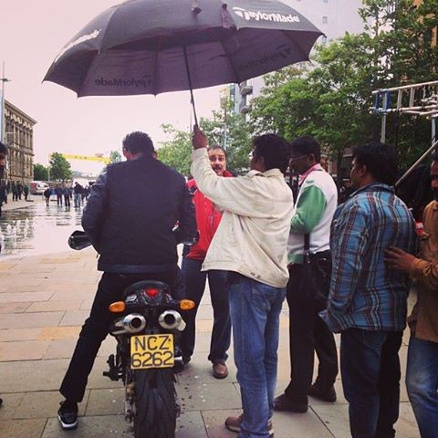 Mahesh Babu Bike Riding Photos from 1 Nenokkadine.