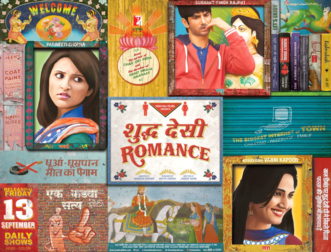 Shuddh Desi Romance First Look Released