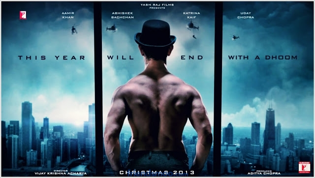 Aamir Khan's Dhoom 3 First Look Poster – Friendsmoo