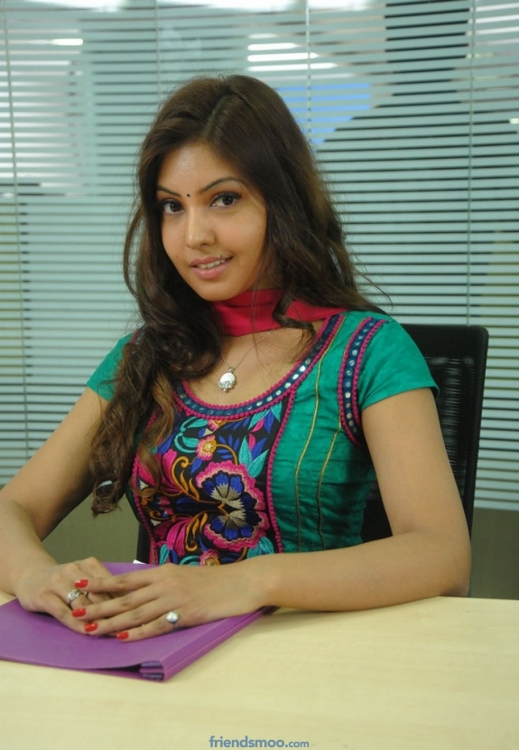 Komal Jha Latest Photos in Green Dress