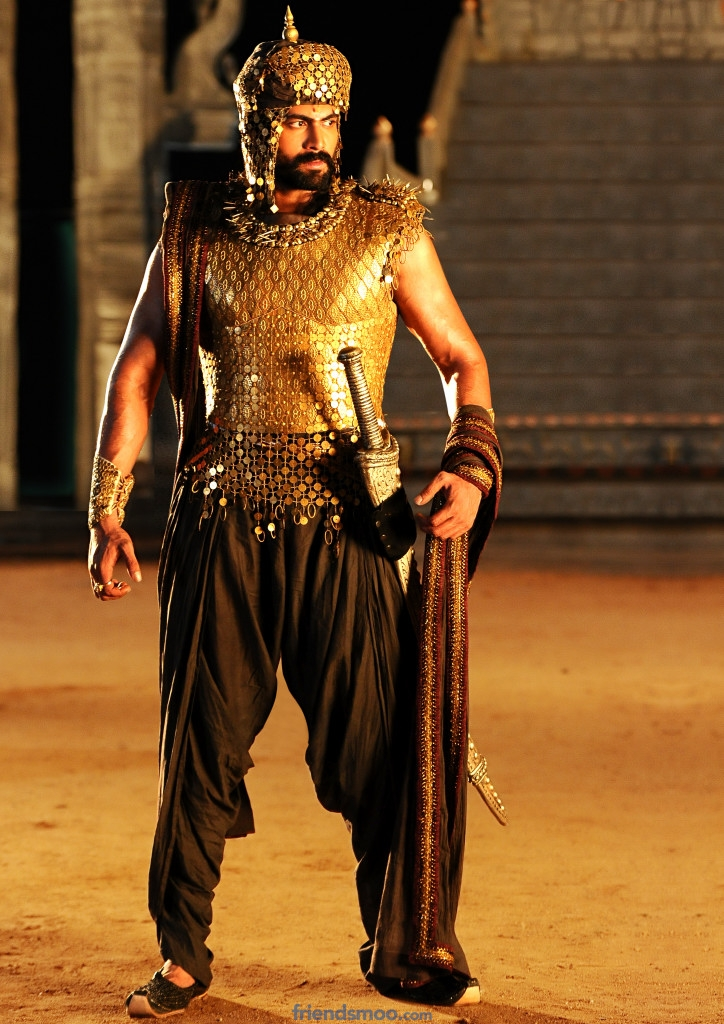 Rana 1st look in Rudhramadevi movie
