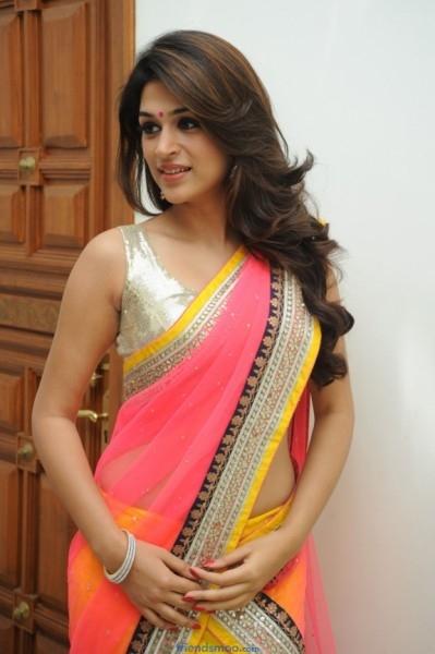 Shraddha Das Latest Photos in Colorful Saree