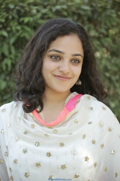 Nitya Menon Latest Photos in White Dress