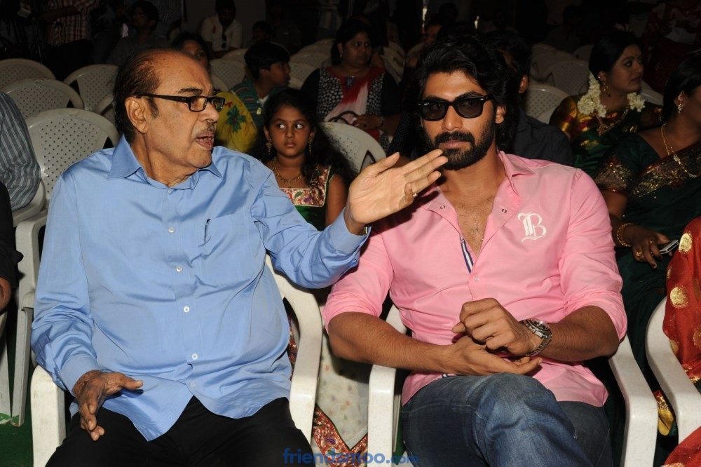 Rana says thanks to his Grand Father Ramanaidu