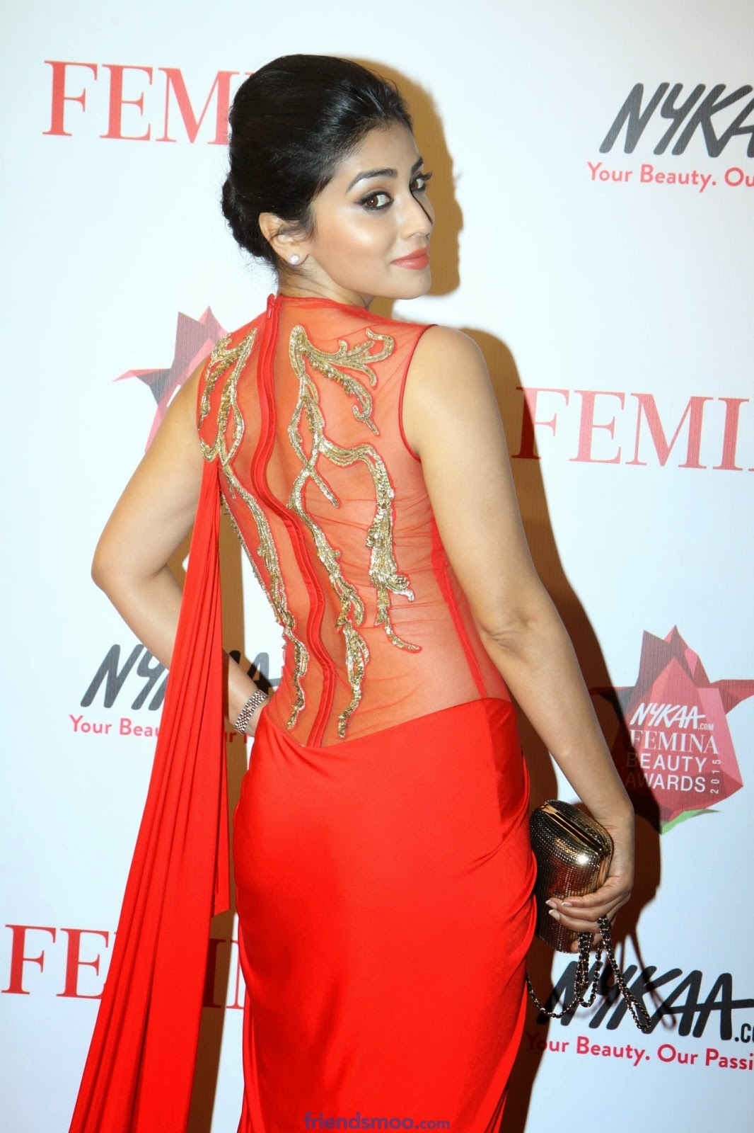 Shriya Saran Latest Photos in Red Dress