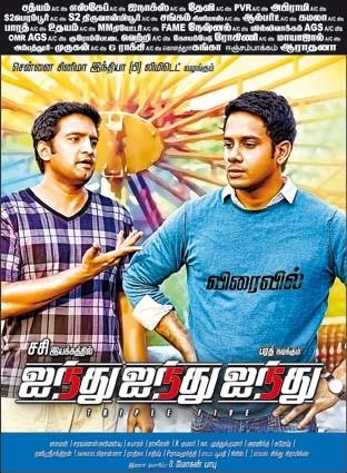 555 Santhanam, Bharath New Poster