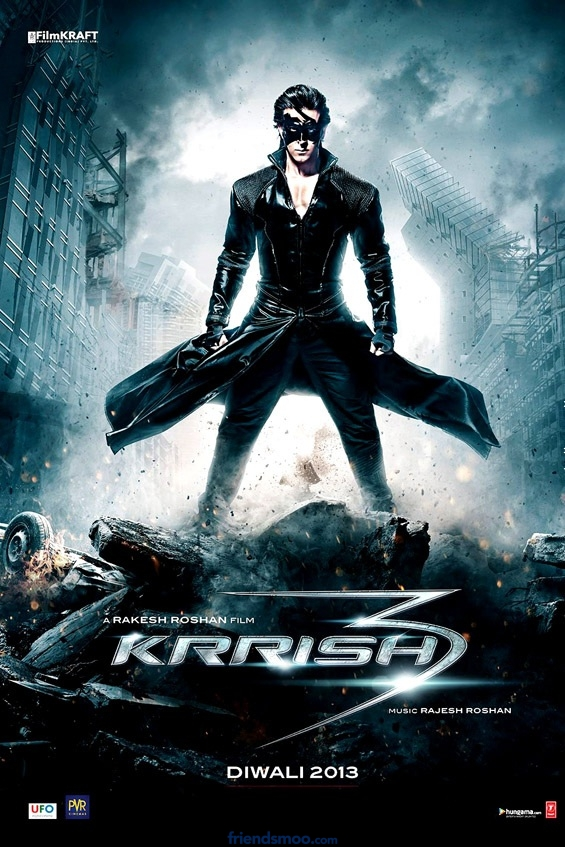 Hrithik Roshan's Krrish3 First Look Poster – Bollywood