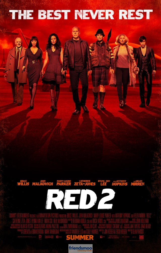 Red 2 Releasing Today.