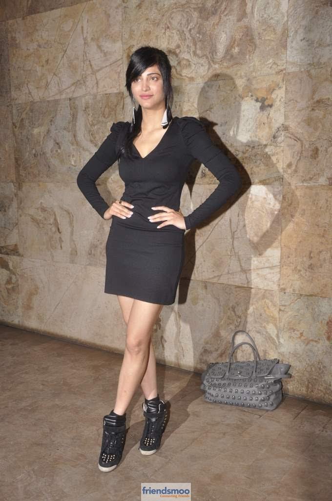 Shruti Hassan Latest Photos At D Day Premier Show