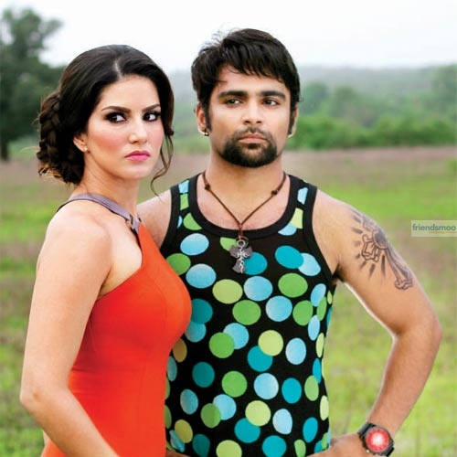 Sunny Leone and Sachiin Joshi's Jackpot First Look Poster