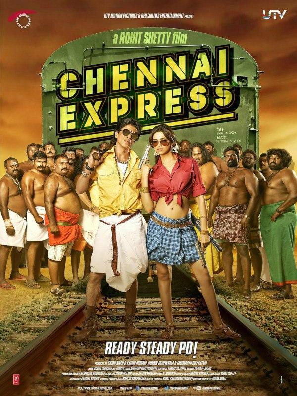 Chennai Express Song – 1 2 3 4… Get on the Dance Floor – Shah Rukh Khan & Priyamani