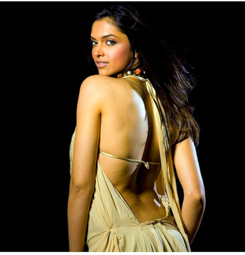 Deepika Padukone Backless Pic