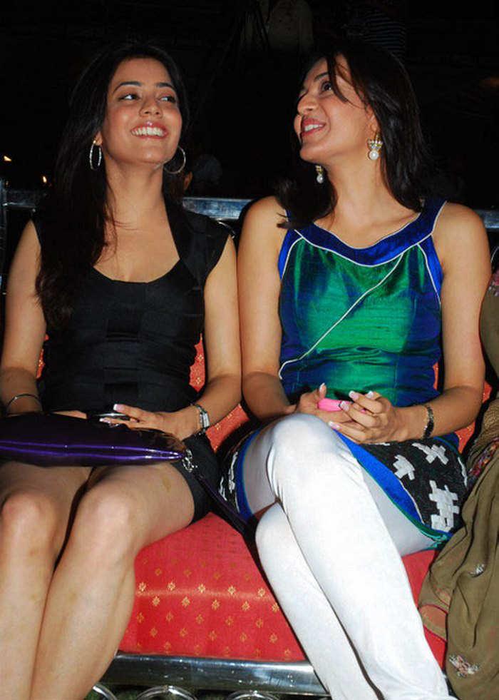 Kajal Agarwal with her Sister Nisha Agarwal Photos