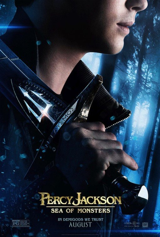 Percy Jackson: Sea of Monsters Movie Posters