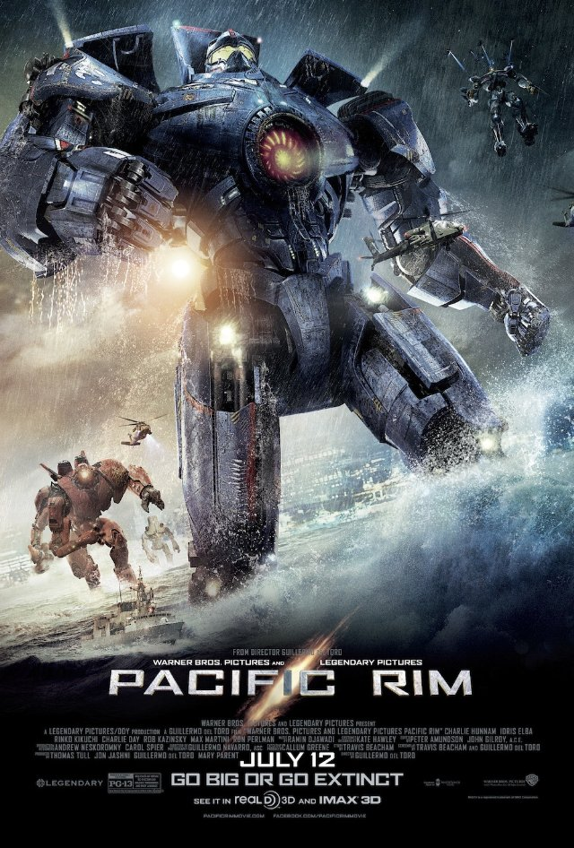 Pacific Rim Releasing on July 12th World Wide