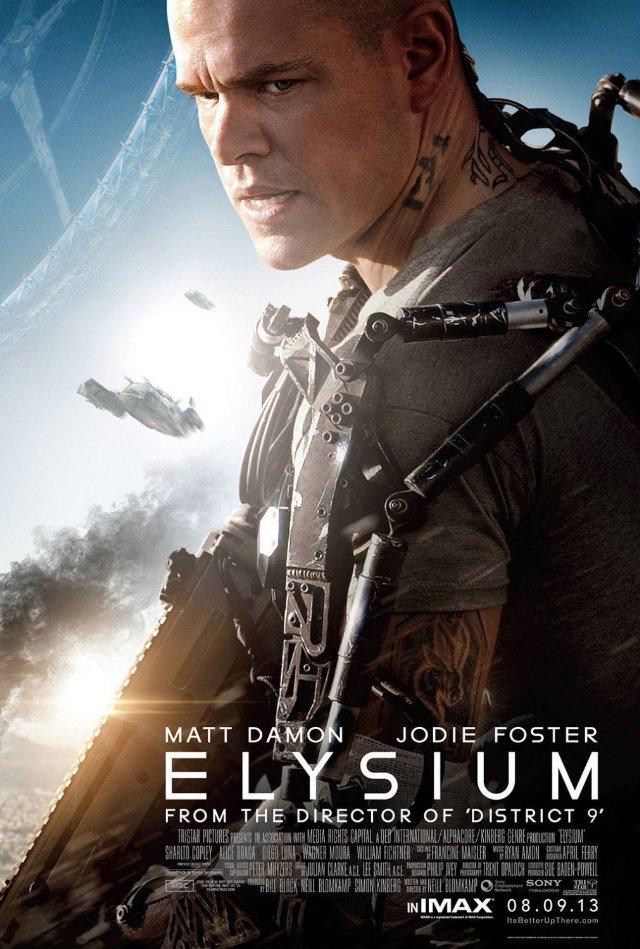 Elysium Movie Trailer