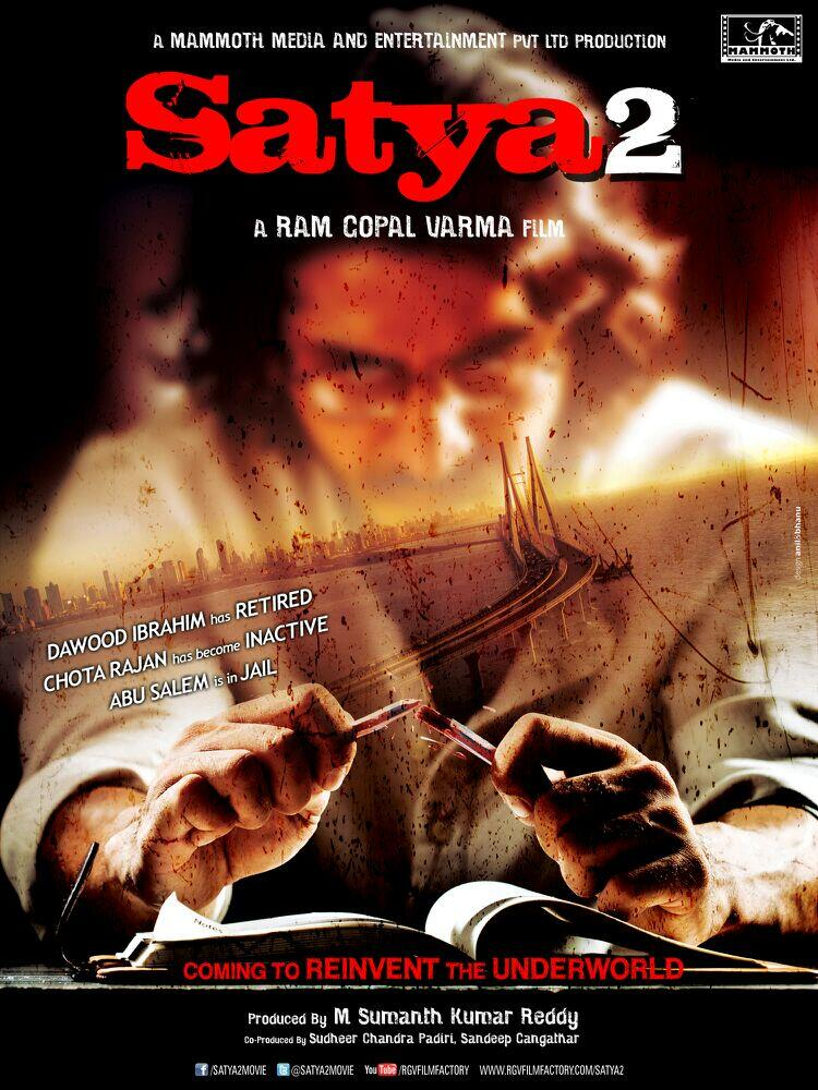 Satya 2 First Look Poster