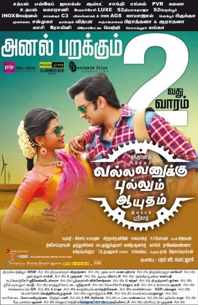 Vallavanukku Pullum Aayudham Second Week Poster