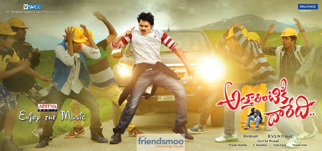 Attarintiki Daredi Latest Posters