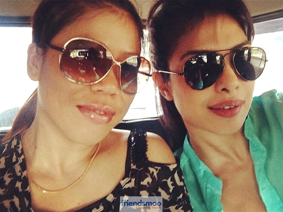 Priyanka Chopra unseen snap with Mary Kom