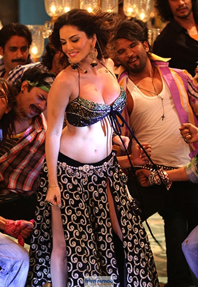 Sunny Leone Hot Photo from Item Song