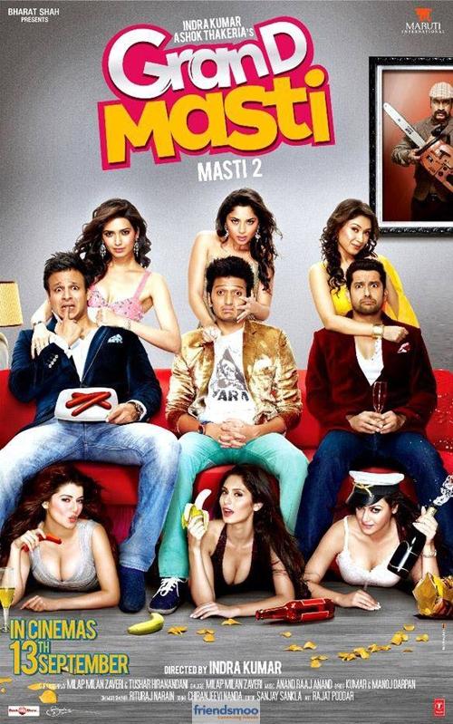 """Grand Masti Trailer"" Official Trailer | Riteish Deshmukh | Vivek Oberoi | Aftab Shivdasani"